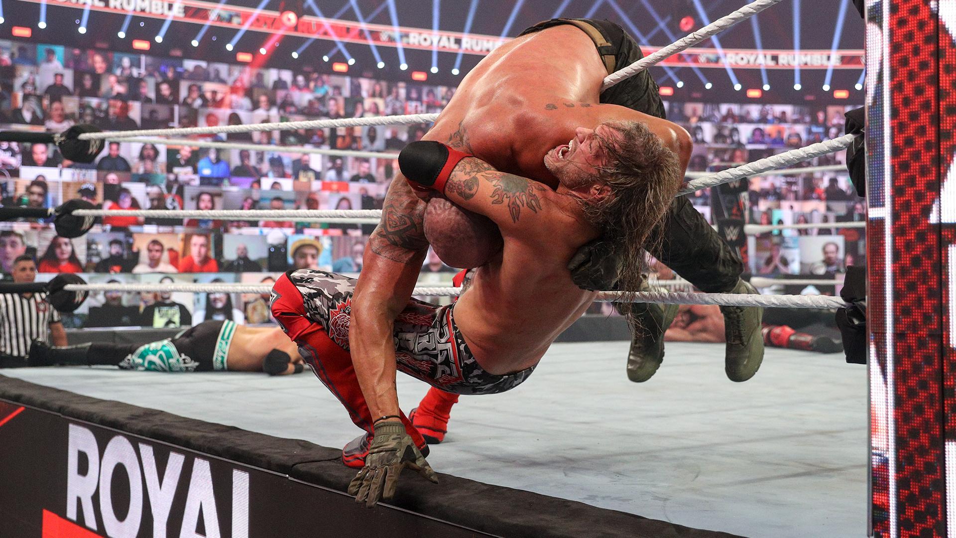 La moyenne d'âge du Royal Rumble Match 2021 fait peur - Catch-Newz