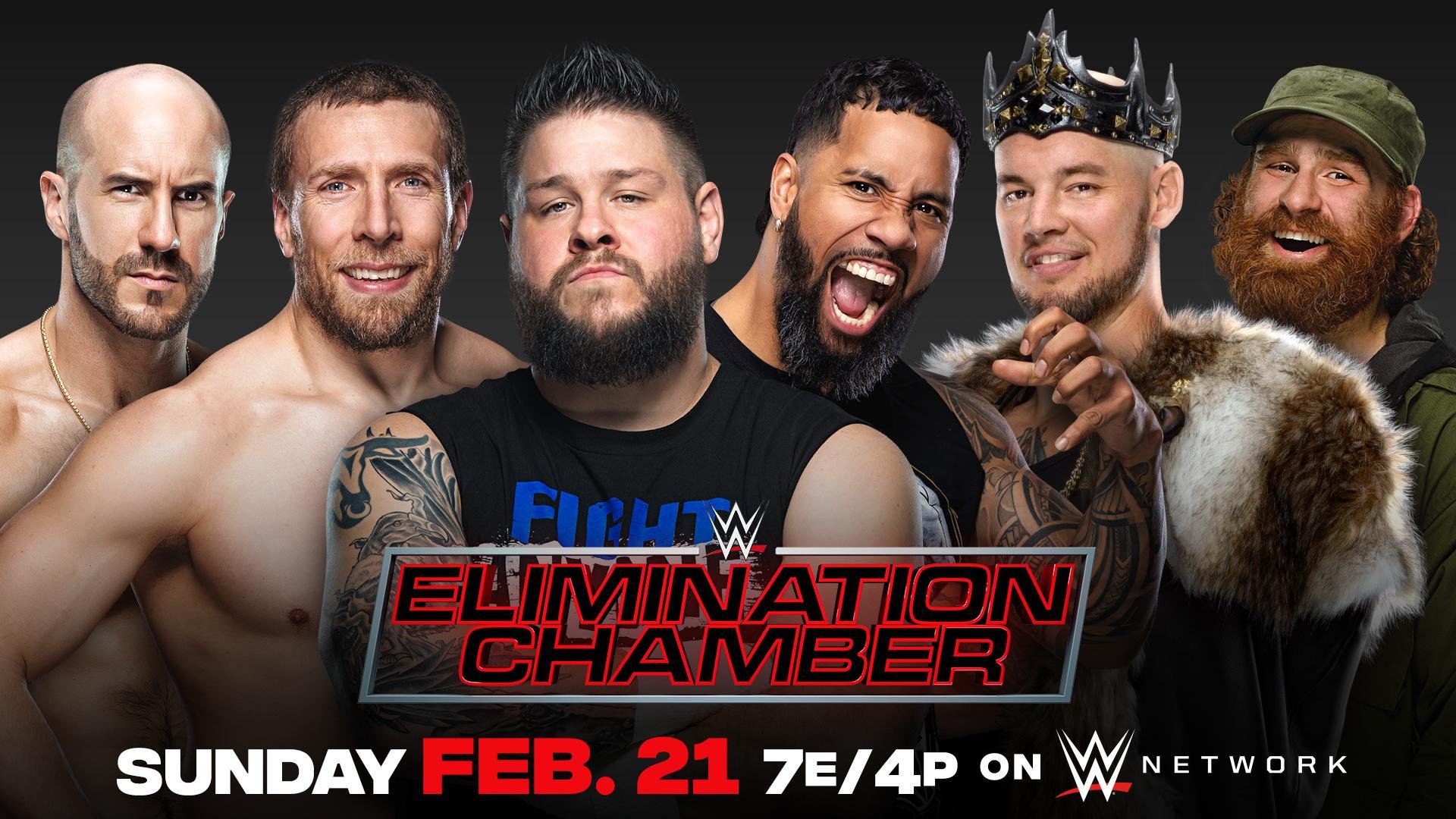 Le second Elimination Chamber Match annoncé - Catch-Newz