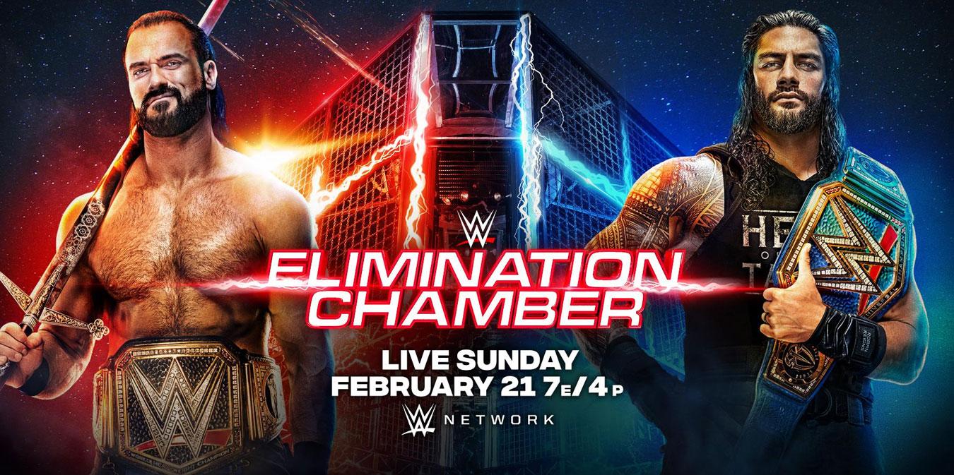 Résultats de WWE Eliminiation Chamber 2021 - Catch-Newz