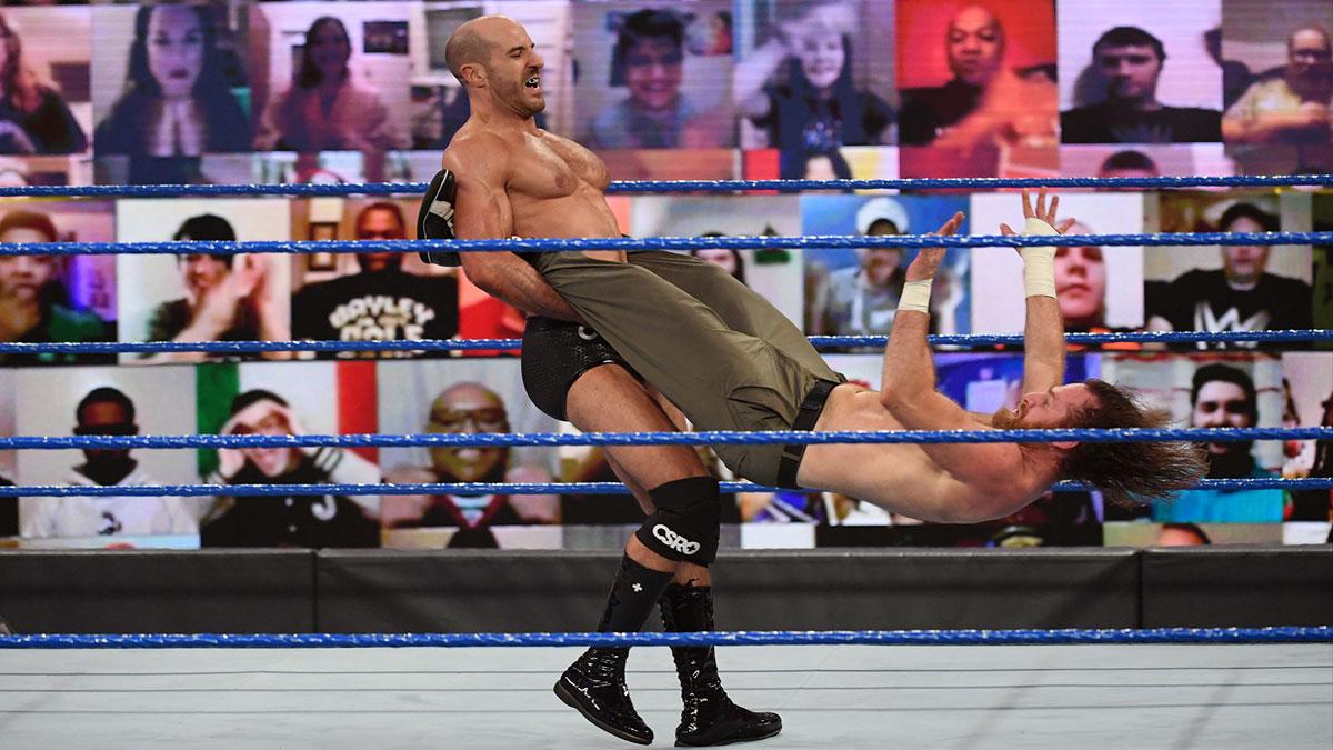 #AventureWM J-43 : Cesaro veut seulement un match simple pour WrestleMania - Catch-Newz