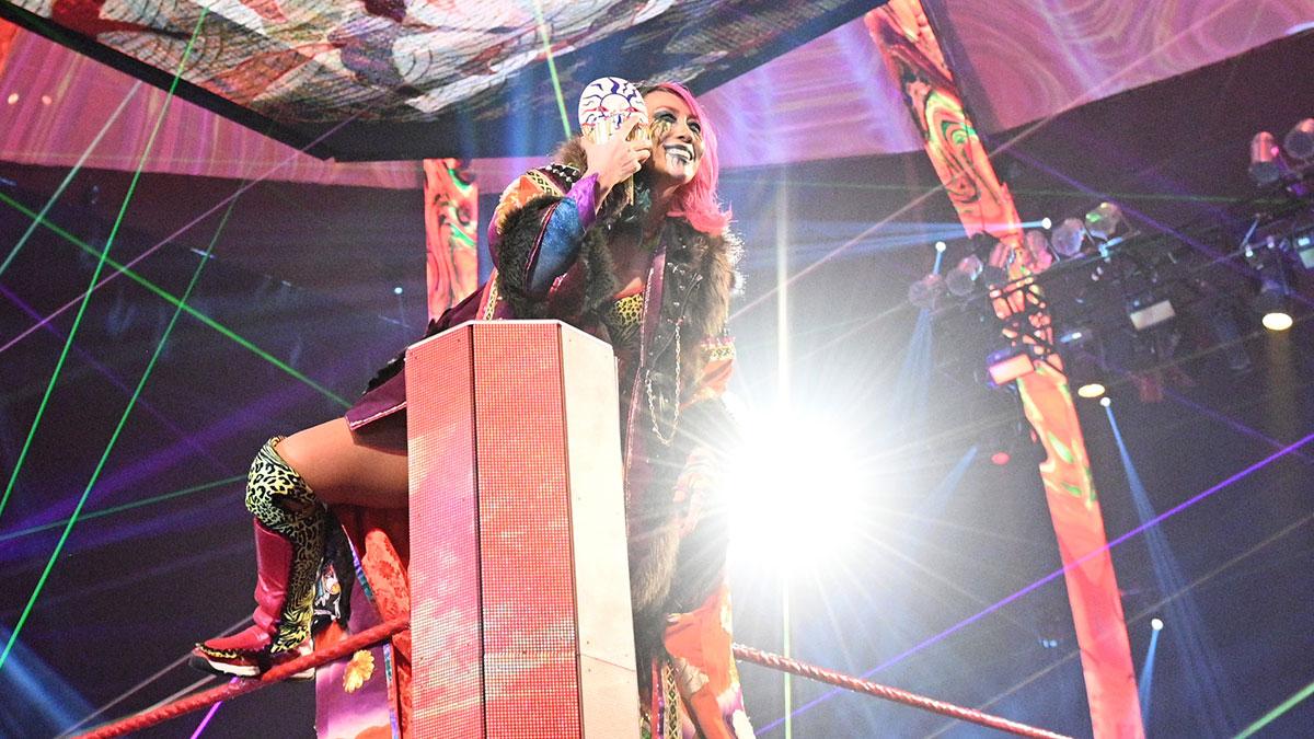 Asuka blessée juste avant WrestleMania 37 - Catch-Newz
