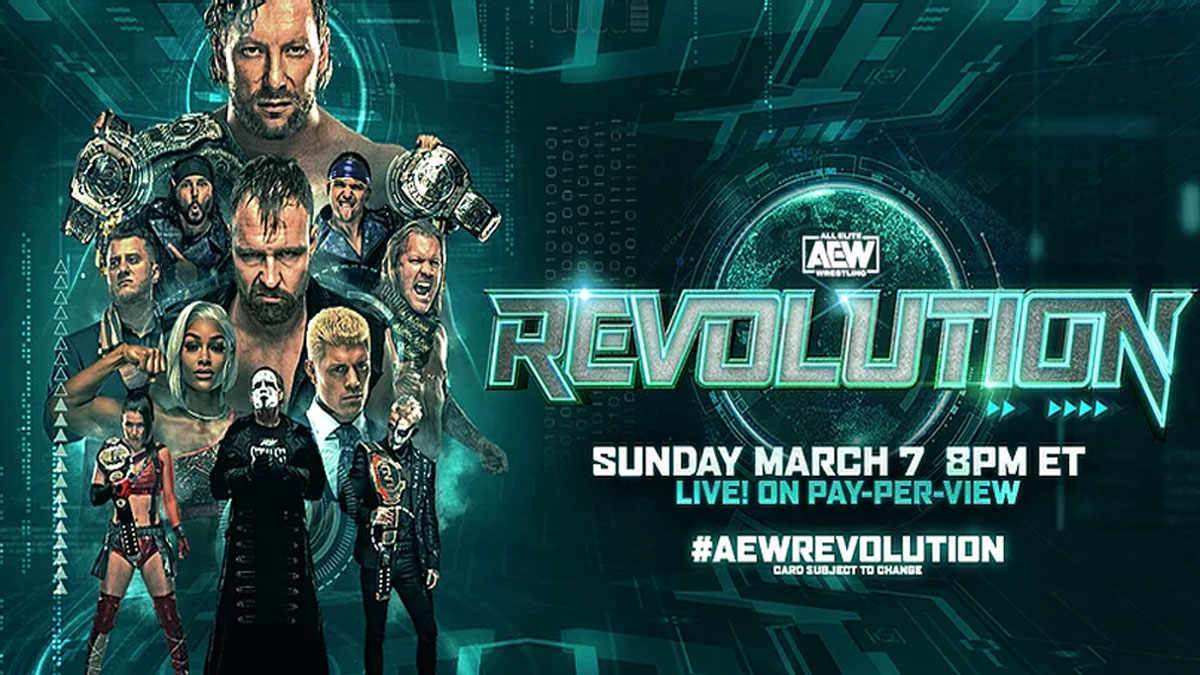 Résultats de AEW Revolution 2021 - Catch-Newz