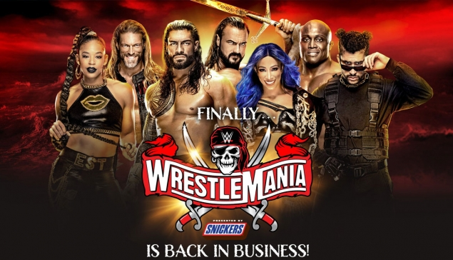 Carte de WWE WrestleMania 37