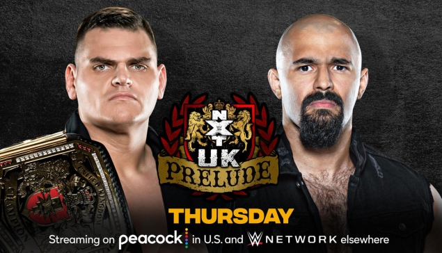 Preview : WWE NXT UK Prelude du 8 avril 2021