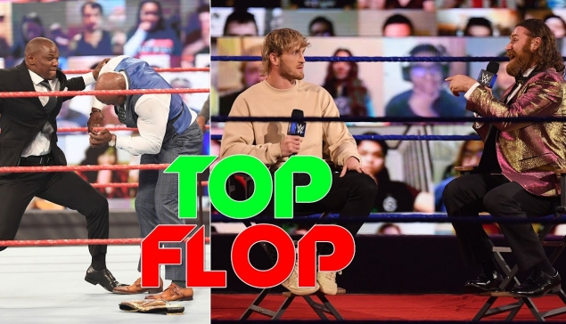 FIN du Hurt Business, Logan Paul à WrestleMania ! (Top/Flop de la semaine)