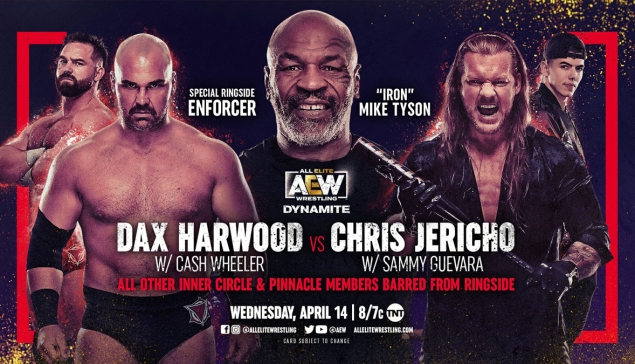Preview : AEW Dynamite du 14 avril 2021