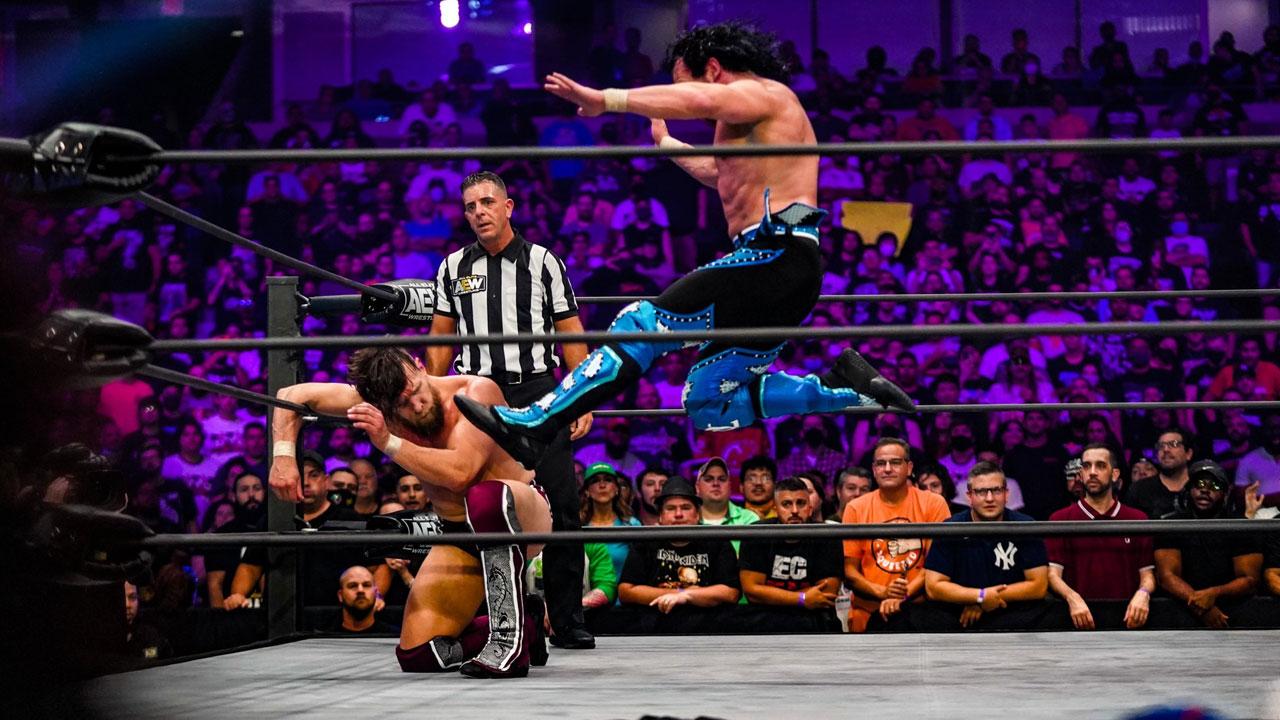 AEW Grand Slam: Daniel Bryan Makes In-Ring Debut Against Kenny Omega 2