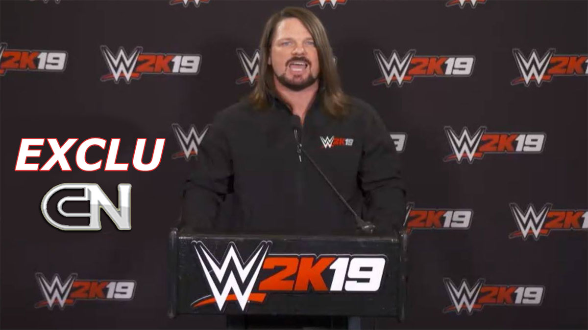 AJStyles 2k19 2