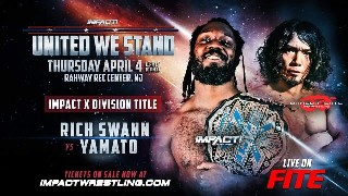 United We Stand Rich Swann VS Yamato