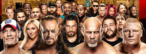 Affiche WWE Royal Rumble 2017