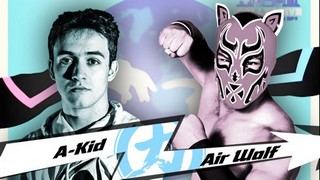 Chikara A Kid VS Air Worlf