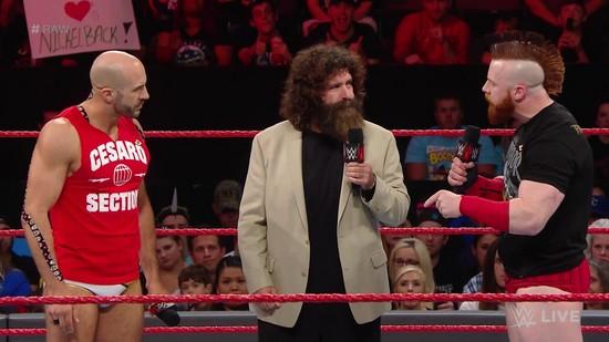 Resultats WWE RAW 26 septembre 2016