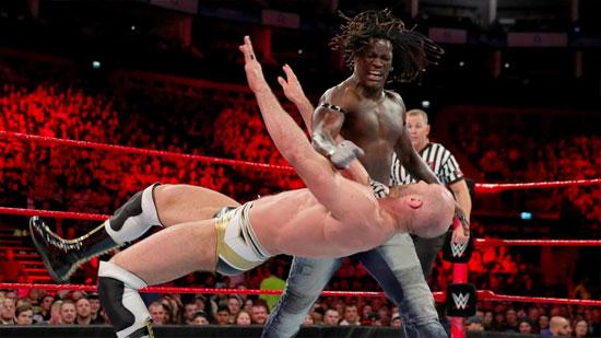 Resultats WWE RAW 8 mai 2017