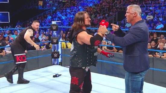 Resultats WWE SmackDown 15 aout 2017