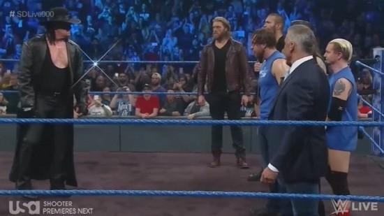 Resultats WWE SmackDown 900