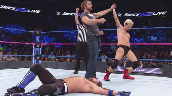Resultats WWE SmackDown 18 octobre 2016