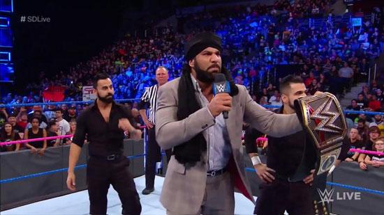 Resultats WWE SmackDown 24 octobre 2017