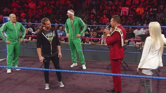 Resultats WWE SmackDown 4 octobre 2016